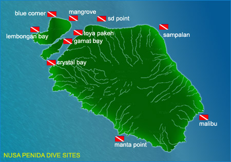 Nusa Penida Dive Sites