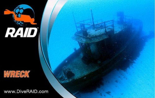 Dive RAID Basic Wreck Specialty