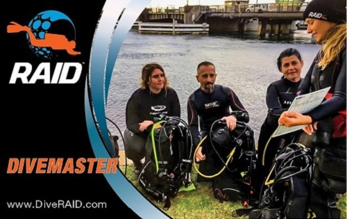 RAID Divemaster  If you love diving and want to share your passion with others